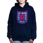 USS ENGLAND Women's Hooded Sweatshirt