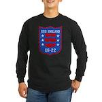 USS ENGLAND Long Sleeve Dark T-Shirt
