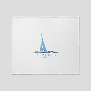 Falmouth - Cape Cod. Throw Blanket