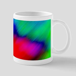 psychedelic rainbow art Mugs