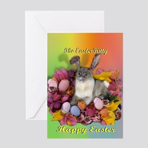 Siamese Cat - Easter Cat Greeting Cards