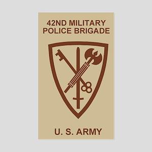 42nd MP Brigade <BR>Khaki Sticker