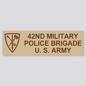 42nd MP Brigade <BR>Bumper Sticker