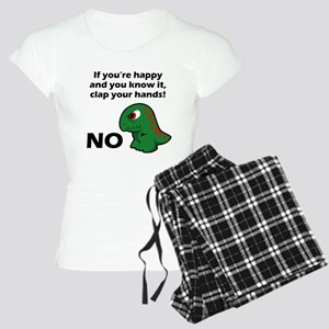 T-Rex isnt happy Women's Light Pajamas