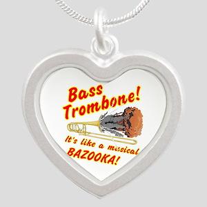 Bass Trombone Musical Bazooka Necklaces