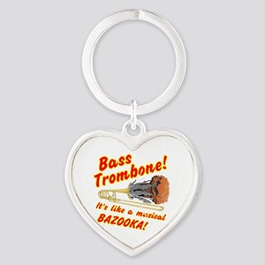 Bass Trombone Musical Bazooka Keychains