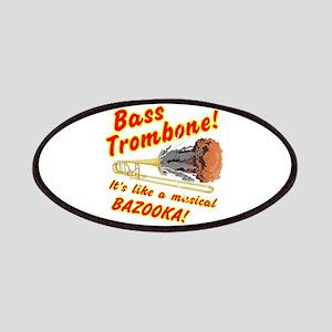 Bass Trombone Musical Bazooka Patch
