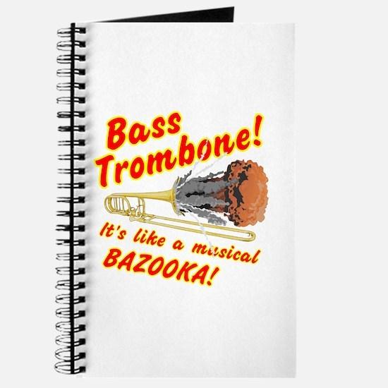 Bass Trombone Musical Bazooka Journal