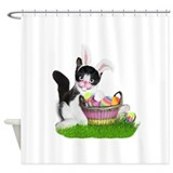 Cute easter Shower Curtains