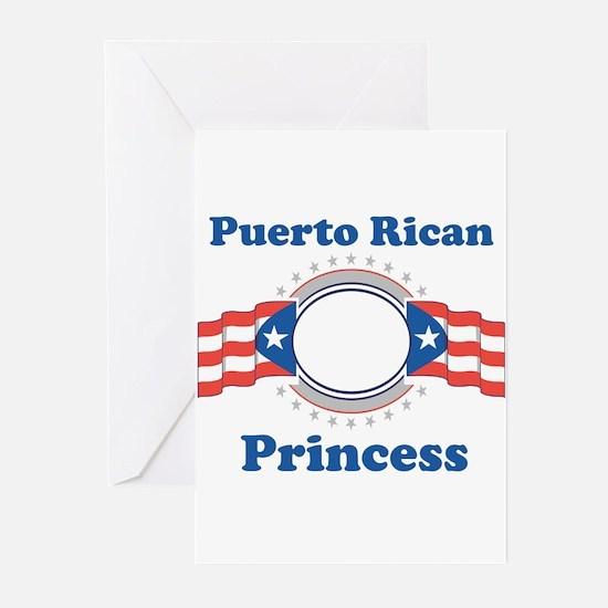 Puerto Rican Princess Greeting Cards (Pk of 10