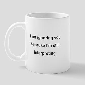 ASL Terp Humor 1 Mug