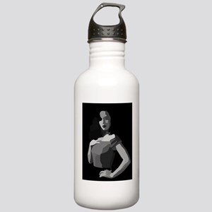 femme fatale black whi Stainless Water Bottle 1.0L