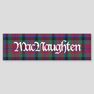 Tartan-MacNaughten Sticker (Bumper)