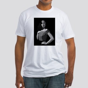 femme fatale black whi T-Shirt