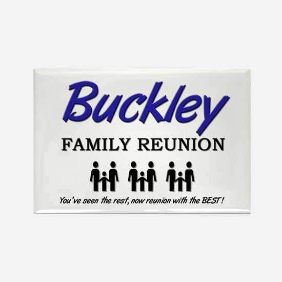 Buckley Family Reunion Rectangle Magnet