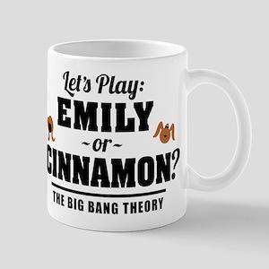 Emily Or Cinnamon Big Bang Theory Mugs