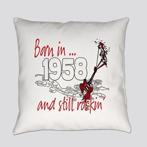 Birthyear 1958 copy Everyday Pillow