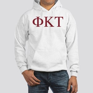 Phi Kappa Tau Letters Hooded Sweatshirt