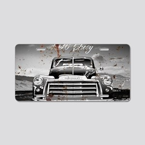1946 Chevy Aluminum License Plate