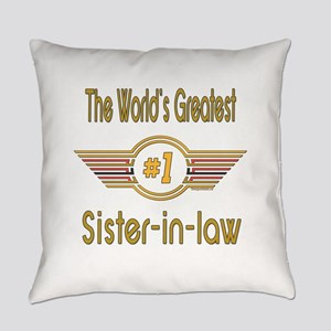 GREENsisterinlaw Everyday Pillow