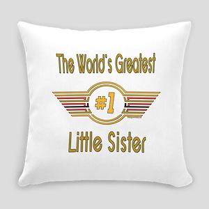 GREENlittlesister Everyday Pillow
