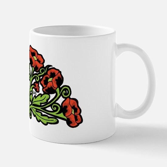 Ukrainian Poppies Mug