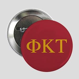 "Phi Kappa Tau Letters 2.25"" Button"