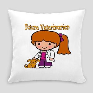FunnyNewfuturevet copy Everyday Pillow