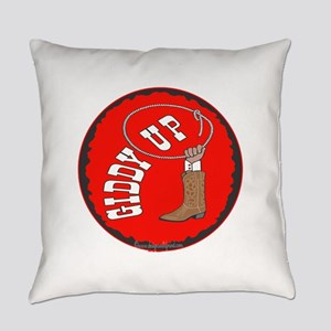 10x10_apparel giddyup copy Everyday Pillow