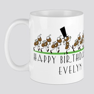 Happy Birthday Evelyn (ants) Mug