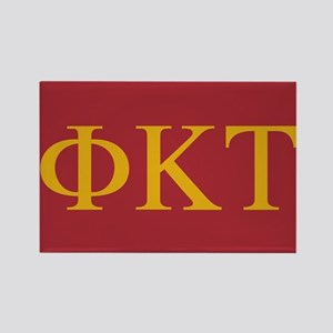 Phi Kappa Tau Letters Rectangle Magnet