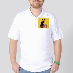 Happy Easter - Le Chat Noir Golf Shirt