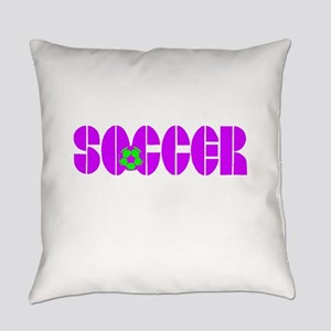 10x10_apparel copy soccergirl Everyday Pillow
