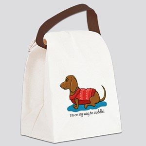 Cuddle Doxi Canvas Lunch Bag