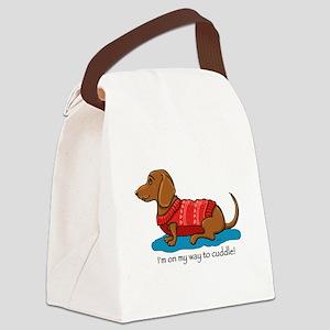 Cuddle Doxi Canvas Lunch Bag