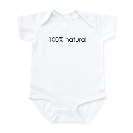 100% Natural Infant Bodysuit