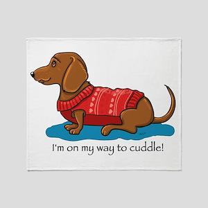 Cuddle Doxi Throw Blanket