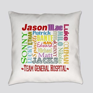 GH guy names copy Everyday Pillow
