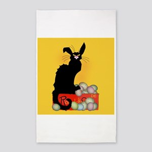 Happy Easter - Le Chat Noir Area Rug
