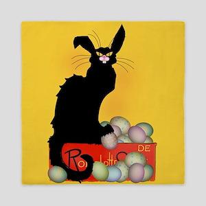 Happy Easter - Le Chat Noir Queen Duvet