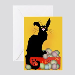 Happy Easter - Le Chat Noir Greeting Cards