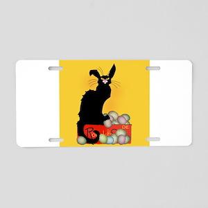 Happy Easter - Le Chat Noir Aluminum License Plate