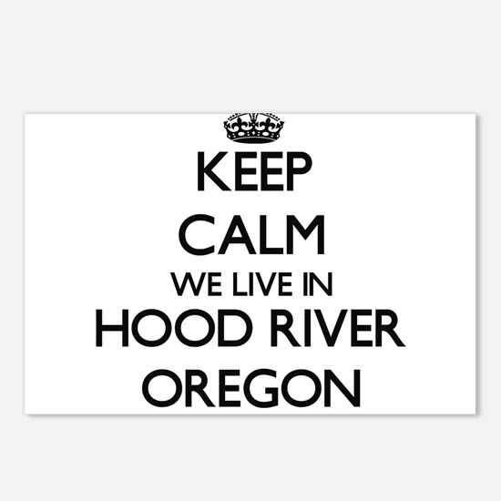 Keep calm we live in Hood Postcards (Package of 8)