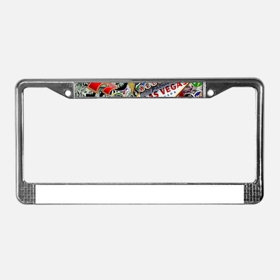 Las Vegas Icons - Gamblers Del License Plate Frame