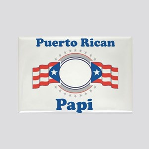 Puerto Rican Papi Rectangle Magnet