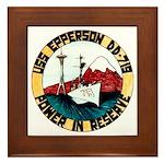 USS EPPERSON Framed Tile
