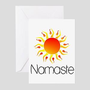 Namaste Sun 3 Greeting Cards (Pk of 10)
