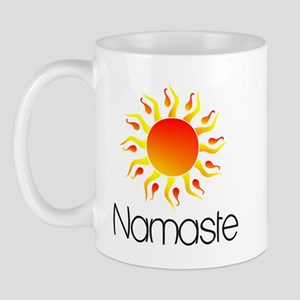 Namaste Sun 3 Mug