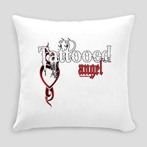 bleedingTattoedAngel copy Everyday Pillow