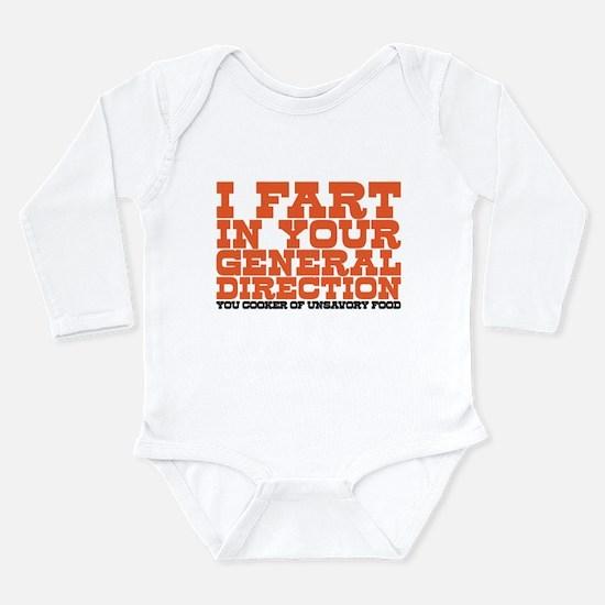 Cute British television Long Sleeve Infant Bodysuit
